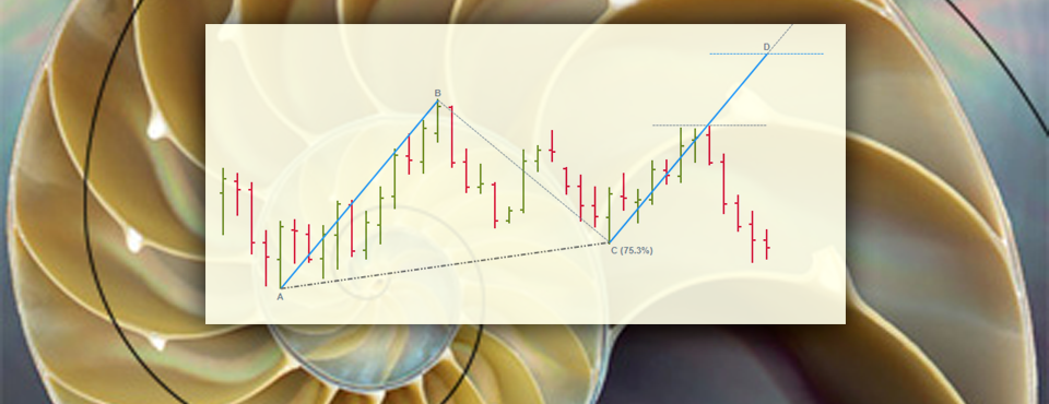 Included in the neoHarmonics toolkit are easy-to-use symmetry tools (AB=CD).  Fibonacci Harmonic Trading